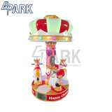 De gelukkige Rit van Kiddie van de Carrousel van de Rit van Kiddie van Kinderjaren, de Carrousel van Kiddes van de Machine van het Spel van de Arcade voor Verkoop