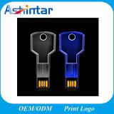 Aandrijving van de Flits van het Kristal USB van de mini LEIDENE van het Geheugen USB de Lichte Zeer belangrijke Stok van de Vorm USB Transparante