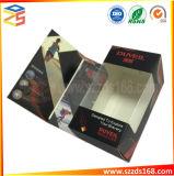 閉じられる磁石との黒いVACの堅いボール紙の電子包装ボックス