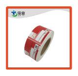 Высокая клей красного бумажную наклейку/индивидуальные этикетки печать