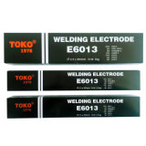 E309, E6013, les baguettes de soudure E7018 avec marque Toko