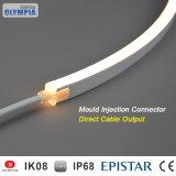Menor consumo de energía de neón intermitente LED IP68, bajo el agua piscina tira de luces.