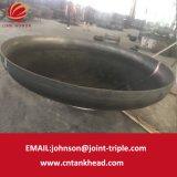 06-26 testa conica ID4500mm*15mm del acciaio al carbonio del contenitore a pressione di ASME