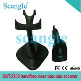 De Scanner van de Streepjescode van de Laser van Handfree met Haven USB