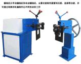 Conduit métallique de tuyau rotatifs Machine rainurage pour tube métallique