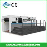boîte en carton<br/> de rainage automatique de scanner à plat et meurent avec le décapage de la machine de découpe (MHK-1050EC)