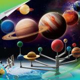 Giocattoli d'istruzione di scienza del kit del modello del Planetarium dei pianeti del sistema solare nove di DIY formazione iniziale per i bambini