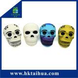 Giocattoli artificiali ecologici del cranio della gomma piuma Antistress dell'unità di elaborazione per Halloween promozionale