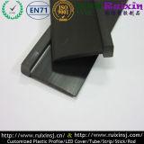 Spazzola di pavimento molle e rigida nera del PVC