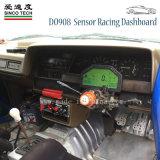 Fazer908 Medidor digital de painel de bordo para automóveis universal 12V
