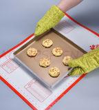Directe Fabriek Om het even welke Mat van het Gebakje van de Glasvezel van het Silicone van de Grootte Beschikbare