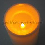 Kerzen der romantischer grosser langer Plastikgebrauch-batteriebetriebene Wohnzimmer-Gebrauch-Beleuchtung-LED