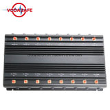 China Jammer señal escritorio ajustable Jammer Teléfono celular CDMA/GSM/3G/4glte celular/2.4G WIFI/Bluetooth/walkie-talkie/Lojack/GPSL1-L5/RC433MHz315MHz868MHz