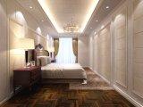 Le WPC imperméable en plastique mur composite de bois d'administration pour décoration maison (AA62)