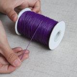 2018 kundenspezifische Großhandelsfarben wuchsen umsponnenes Polyester-Schnur-Netzkabel ein