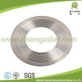 Guarnizione del metallo di Asme B16.20 316L Kammprofile