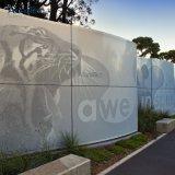 L'extérieur en métal poudré panneau mural en acier