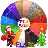PLAのフィラメントは補充する3Dからす口の/3Dの印刷のペン(16のカラー、それぞれ20フィート)のための1.75mmを