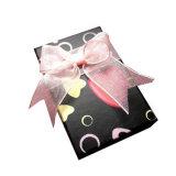 Contenitore impaccante personalizzato del regalo del sacchetto di monili di carta duri della copertura superiore