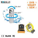 Het Loodgieterswerk van het Afvoerkanaal van het Riool van de Camera's van de Inspectie van de Pijpleiding van kabeltelevisie met Kabel 60140m