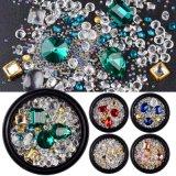 De uitstekende kwaliteit Gemengde Ontwerpen van de Kunst van de Spijker van de Parels van het Bergkristal van het Kristal van de Stijl
