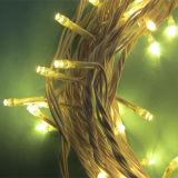 de Draad 10m100LEDs van het LEIDENE Koper van pvc verbindt leiden van de Lichten van het Koord van het Decor van Kerstmis