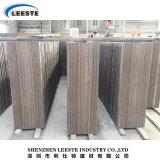 良質のコーヒー木製のブラウンの大理石の床タイル
