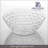 9pouce de dessins et modèles en rotin bol en verre pour les fruits d'écrous Candy GO1691CX-1