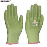 En388 Groen Bestand Niveau 3 van de AntiBesnoeiing Hppe Handschoenen