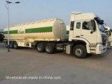 Sinotruck HOWO 42000 Liter 3 Fach-Kraftstoff-Tanker-Schlussteil-