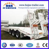 Niedriger Preis 3axles 100 Tonnen-niedriger Bett-LKW-halb Schlussteil in China
