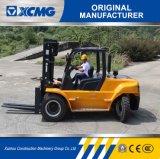 Carrello elevatore diesel di XCMG un carrello elevatore a forcale diesel da 5 tonnellate con lo spostamento laterale ed il pneumatico solido