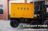 500kw 625kVA Groupe électrogène de puissance moteur Cummins Diesel Portable générateur refroidi par eau de remorque