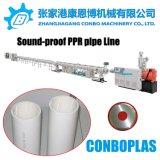 La extrusora de plástico, PPR insonorizadas Tubo de drenaje de la producción de la línea de extrusión