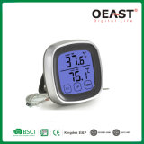 容易世帯のタッチ画面のデジタルBBQのフォークの温度計Ot5231b2を作動させなさい
