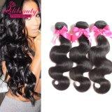 Волосы Unprocessed оптовой девственницы выдвижения человеческих волос объемной волны перуанские для чернокожих женщин