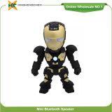 Iron man дизайн беспроводной связи Bluetooth громкоговоритель с красочными светодиодные индикаторы