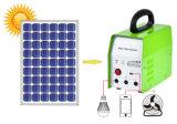 Système domestique solaire avec la lumière de tube de DEL