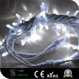 LED-wasserdichtes im Freienweihnachtsgummizeichenkette-Lichter