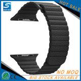 Cinturino magnetico del cuoio del ciclo per Apple Iwatch