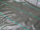 Baixa matéria têxtil da tela da tela do geotêxtil do alongamento