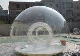 Claro inflable que acampa Lawn Burbuja Carpa