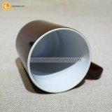 Color Chocolate de taza de café de cerámica de forma de V