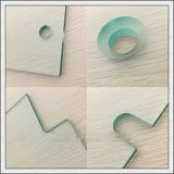磨かれた端が付いているゆとりまたは染められるか、または超明確な強くされた緩和されたガラスか穴または切られたサイズ