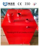 Contenitore del serbatoio di combustibile rivestito della polvere rossa/piatto d'acciaio dello smalto