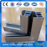 Lujo Mansion Multiwall Galss ventana perfil de aluminio