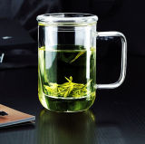 Personalizzare la tazza di tè con l'alta tazza di vetro del tè di vetro di Borosilicate di Infuser