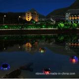 Indicatore luminoso di galleggiamento cambiante di colore impermeabile di energia solare (RS109A)