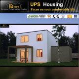 Casa prefabricada doble de la buena calidad del suelo para la vida de la familia