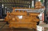 Enchufe de fábrica vendedor caliente de Lvhuan 300kw de la producción de energía del gas de la biomasa del conjunto de generador de la prueba de los sonidos para el mercado de ultramar